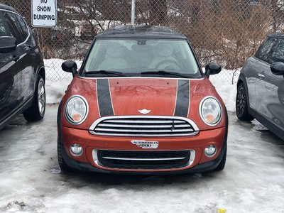 2012 MINI Cooper SPICE ORANGE 6MT WHITE LEATHER CLEAN AS IS SPECIAL