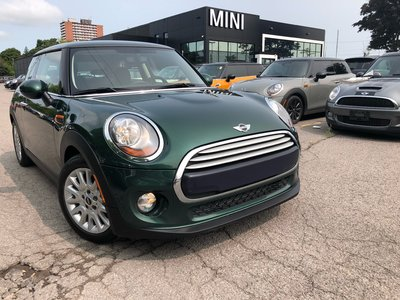 2014 MINI Cooper RACING GREEN SPORTS SEATS LOW KM 1 OWNER AUTO