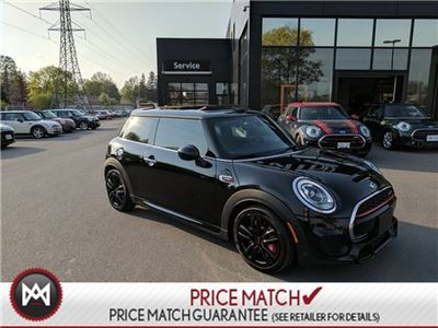 MINI John Cooper Works FULLY LOADED JCW NAVI TUNED TRUFFFLE LEATHER 2016