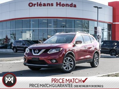 2015 Nissan Rogue SL AWD Warranty TO AUG 2021 OR 140,000KMS