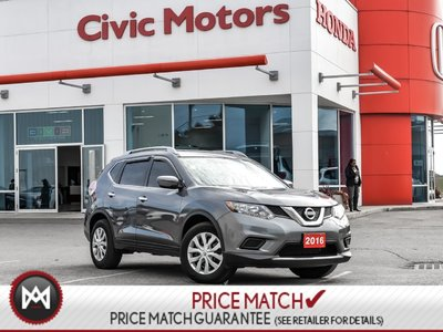 2016 Nissan Rogue S - Cruise Contorl, Power Group, AIR Condition