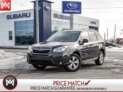 2015 Subaru Forester CONVIENIENCE PACKAGE