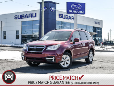 Subaru Forester CONVENIENCE PACKAGE ! 2018