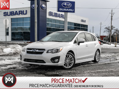 Pre Owned 2014 Subaru Impreza Wagon Sport Pack Sunroof In Ontario