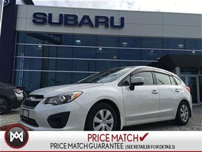 2012 Subaru Impreza AWD, Manual, LOW KM!