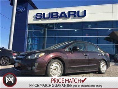 2013 Subaru Impreza AWD, Sunroof, Heated Seats