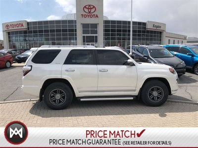 Toyota 4Runner LIMITED - WHITE - 2 SETS TIRES - TOYOTA CERTIFIED 2015