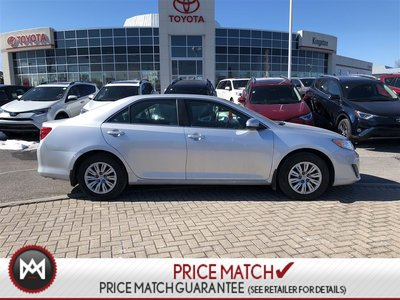 2014 Toyota Camry LE - LOW KM - CAMERA - BLUETOOTH