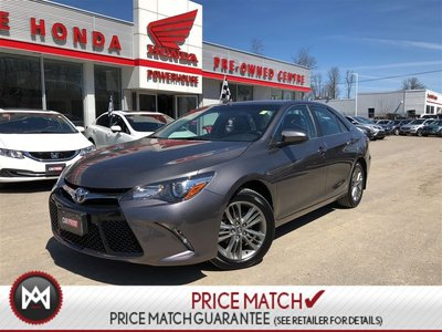 Toyota Camry SE! BACK UP CAM! FOG LIGHTS! 2017