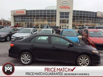 2010 Toyota Corolla S PKG- Alloys,Sunroof,Foglights & More!! WOW,What