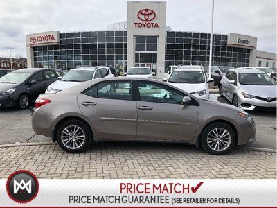 2014 Toyota Corolla POWER SEATS - LEATHER - NAVIGATION - SUNROOF