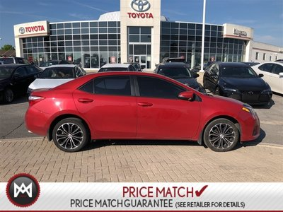2015 Toyota Corolla MODEL S - LEATHER - SUNROOF - NO ACCIDENTS