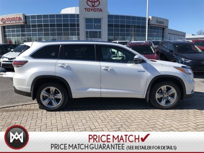 2015 Toyota Highlander hybrid LIMITED HYBRID - EVERY OPTION POSSIBLE - ONE OWNER