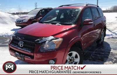 2009 Toyota RAV4 Sport 4WD Sunroof Power Group 2 Sets of Tires