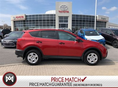 Toyota RAV4 LE - ONE OWNER - LOW KM 2013