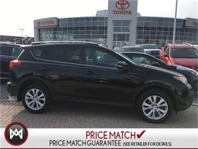 2015 Toyota RAV4 LIMITED MODEL,LEATHER,ROOF,ALLOYS&MORE!