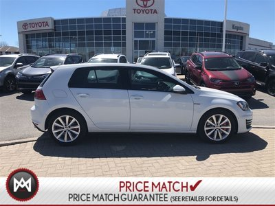 2016 Volkswagen Golf GTI PERFORMANCE PACK - LEATHER - 6 S MANUAL - REAL GTI