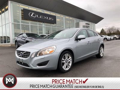 2012 Volvo S60 T6 AWD - LOW KM - CLEAN - LOADED - CITY SAFETY