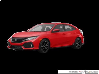 2018 Honda Civic CIVIC,5D L4 SPORT6MT