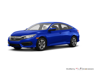 Honda Civic CIVIC 4D L4 LX 6MT 2018