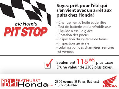 Été Honda Pit Stop