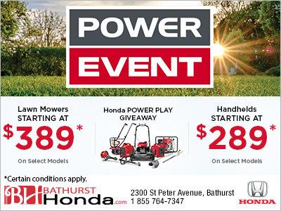 Honda's Power Event