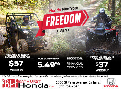 Honda's Find Your Freedom Sales Event!
