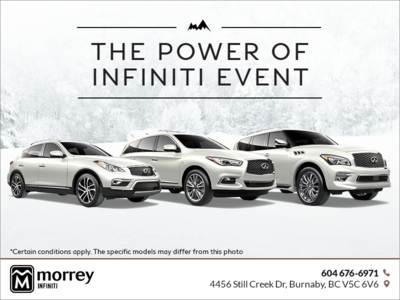 The Power of Infiniti Event