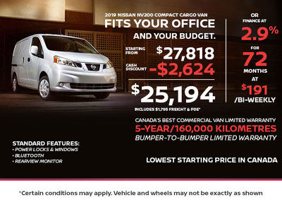NV200 - Fits your office AND Your Budget