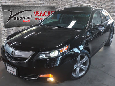 Acura TL W/Technology Package 2013