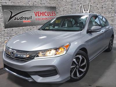 Honda Accord LX*GARANTIE PROLONGÉE* 2017