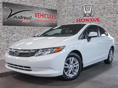 Honda Civic LX*FIABLE ET ECONOMIQUE* 2012