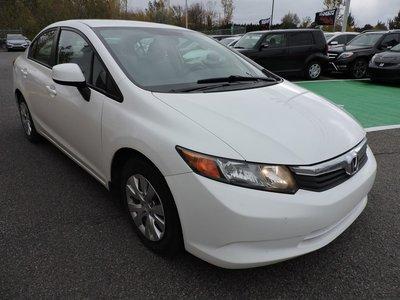 2012 Honda Civic LX, AIR CLIM/ SYSTEME ECON