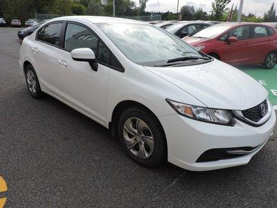 Honda Civic LX/SIEGES CHAUFFANTS/SYSTEME ECON 2014