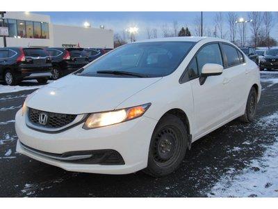 Honda Civic LX / BLUETOOTH / SIÈGES CHAUFFANTS 2014