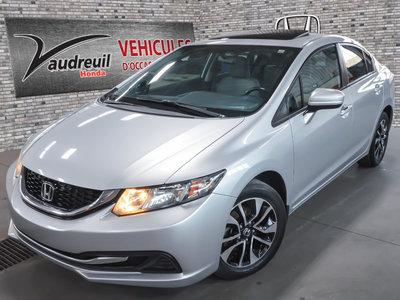 Honda Civic EX*TOIT*MAG* 1 PROPRIO* 2014