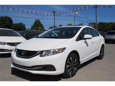 Honda Civic EX/GARANTIE GLOBALE 11/11/2020 OU 100000 KM 2015