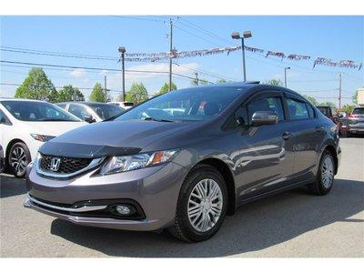 Honda Civic Touring/GARANTIE GLOBAL 05/18/2020 OU 120 000KM 2015