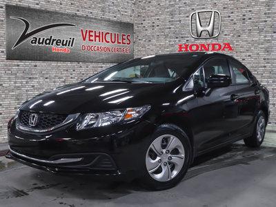 Honda Civic LX*UN PROPRIO*JAMAIS ACCIDENTE* 2015