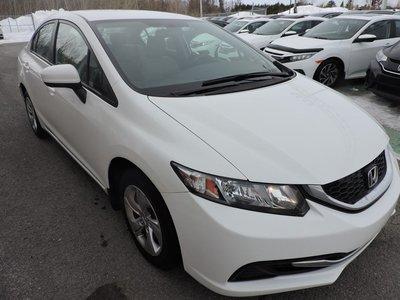 Honda Civic LX, AIR CLIMATISÉ 2015