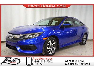 Honda Civic EX, TOIT OUVRANT, MAGS 2016