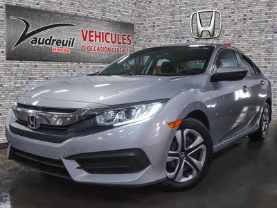 Honda Civic LX*DÉMARREUR INCLUS* 2017