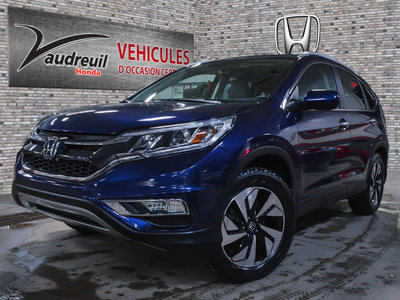 Honda CR-V Touring*CUIR*GPS*AWD* 2016