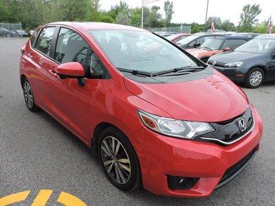 2015 Honda Fit EX-L/ NAVIGATION/ CUIR / GARANTIE HONDA