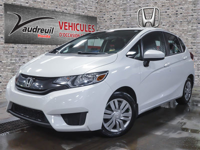 2015 Honda Fit LX*LA MEILLEURE DE SA CATÉGORIE*