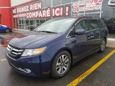 Honda Odyssey Touring*GPS*DVD*CUIR* 2017