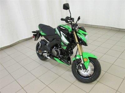 2017 Kawasaki Z125 PRO KRT -