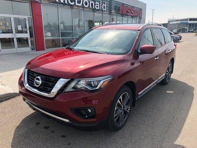 2018 Nissan Pathfinder 5XEG18-CVT