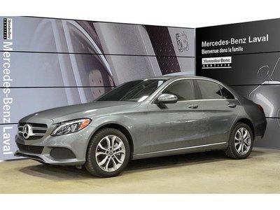 2017 Mercedes-Benz C300 4matic Sedan EX-Demo!