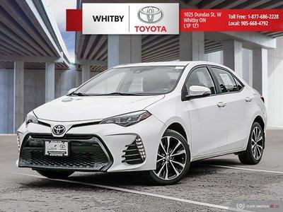 2017 Toyota COROLLA XSE CVT